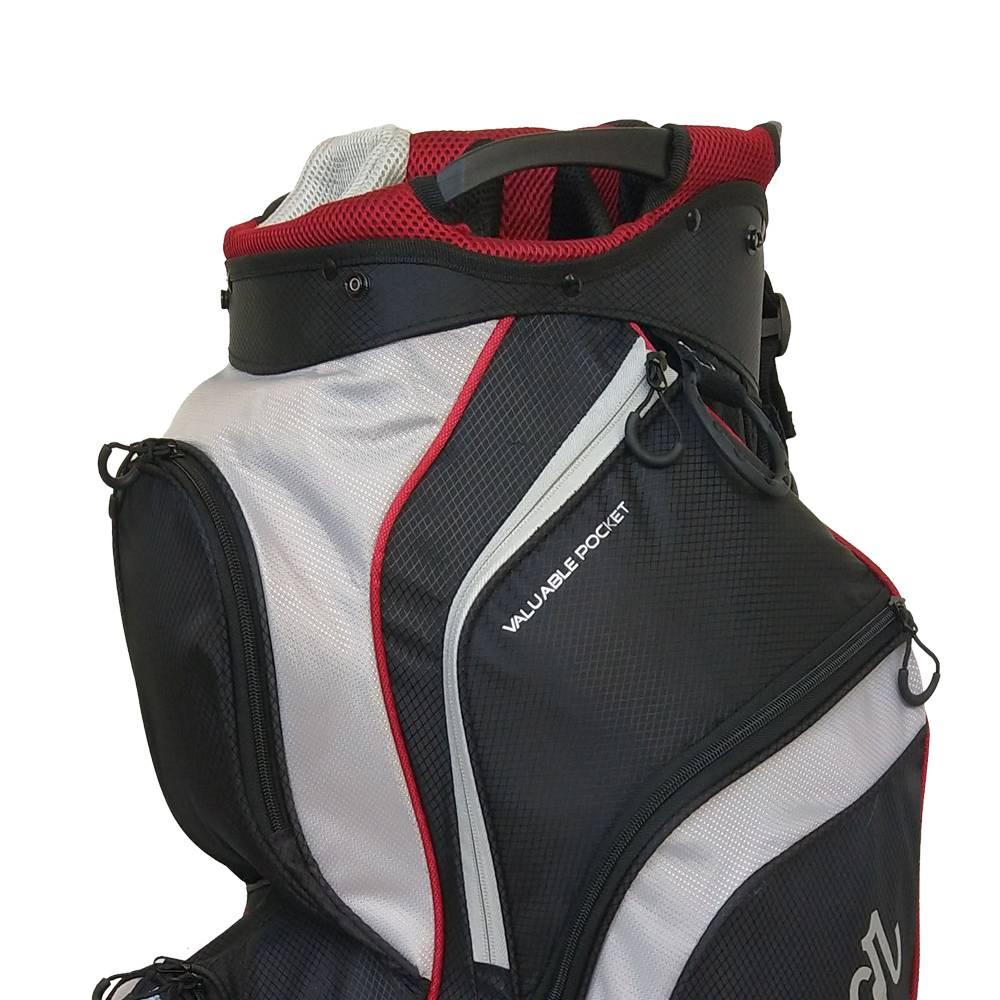 Macgregor Golf Response trolley tas - Zwart/Zilver
