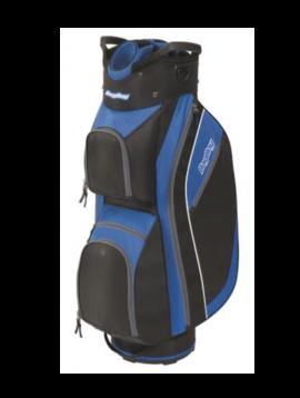 BagBoy SuperLite Trolley tas - Zwart/Blauw