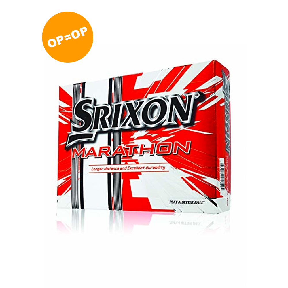 Srixon Marathon golfballen - Wit