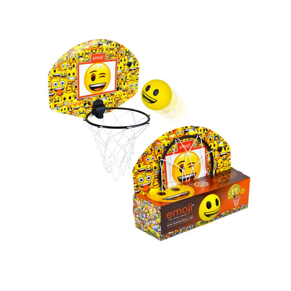 Emoji Mini basketball set