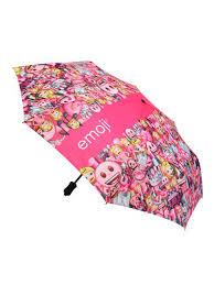 Emoji Compacte paraplu - girls