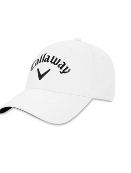 Callaway Liquid Metal Adjustable Cap - Wit/Zwart