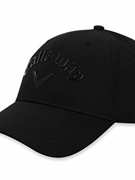 Callaway Liquid Metal Adjustable Cap - Zwart/Zwart
