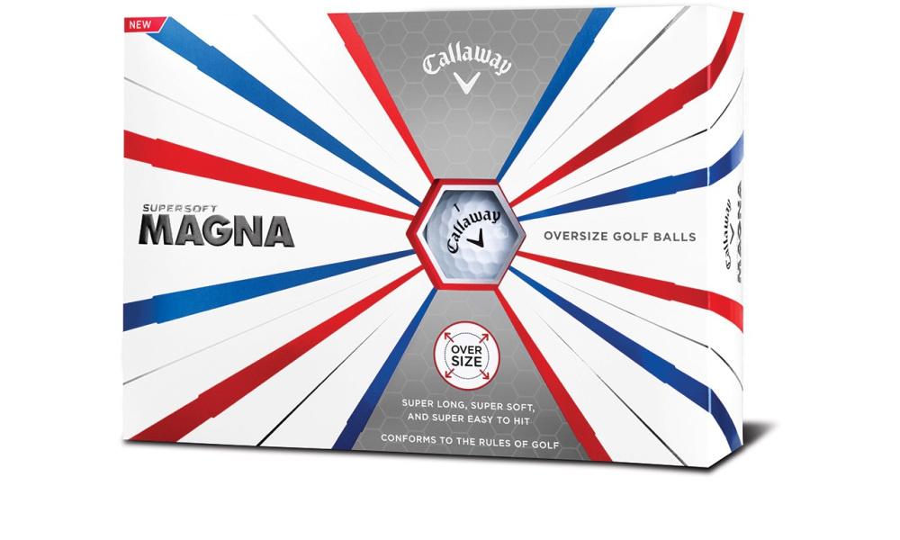 Callaway Supersoft Magna golfballen - 12 stuks Wit
