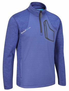 Stuburt Evolve Half Zip Fleece Trui - Midnight Blauw