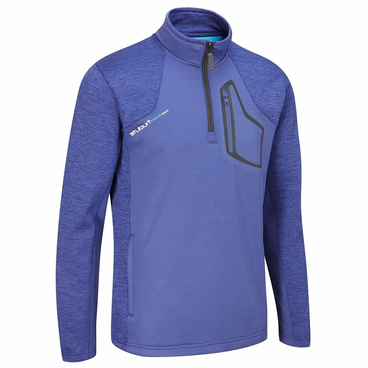 Stuburt Evolve Half Zip Fleece Trui - Midnight Blauw