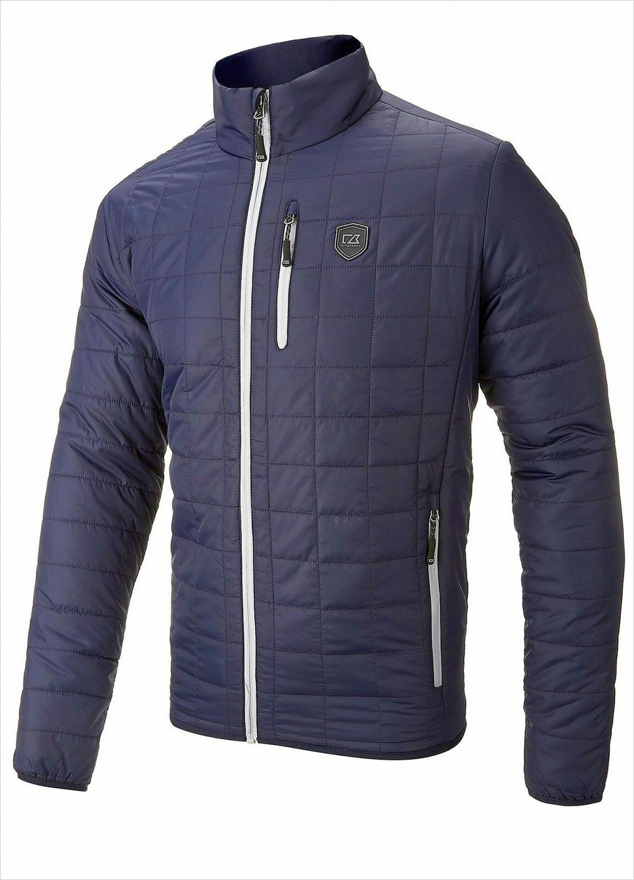 Cutter & Buck Quilted Puffa Jacket - Navy