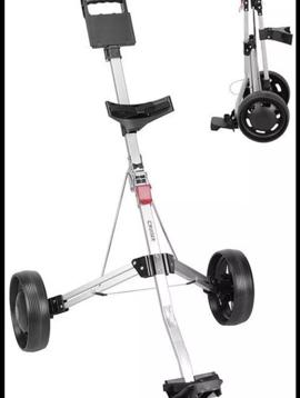 TW2 Ultra compacte 2-wiel trolley - Silver