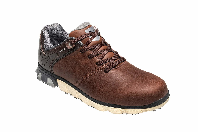 Callaway Apex Pro Spikeless heren golf schoenen - Bruin