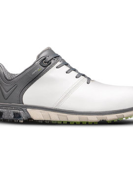 Callaway Apex Pro Spikeless heren golf schoenen - Wit/Grijs