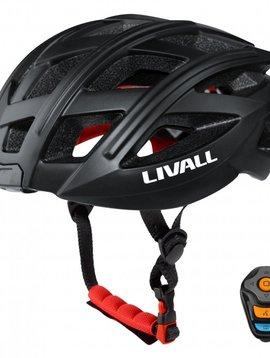 Livall BH60 Fietshelm Zwart - maat M/L