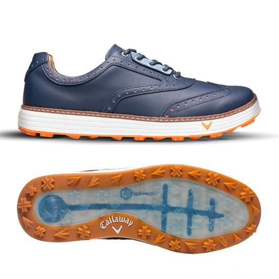 Callaway Delmar Retro heren golf schoenen - Navy