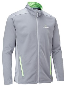 Stuburt Endurance Full Zip Fleece Trui - Storm Grijs