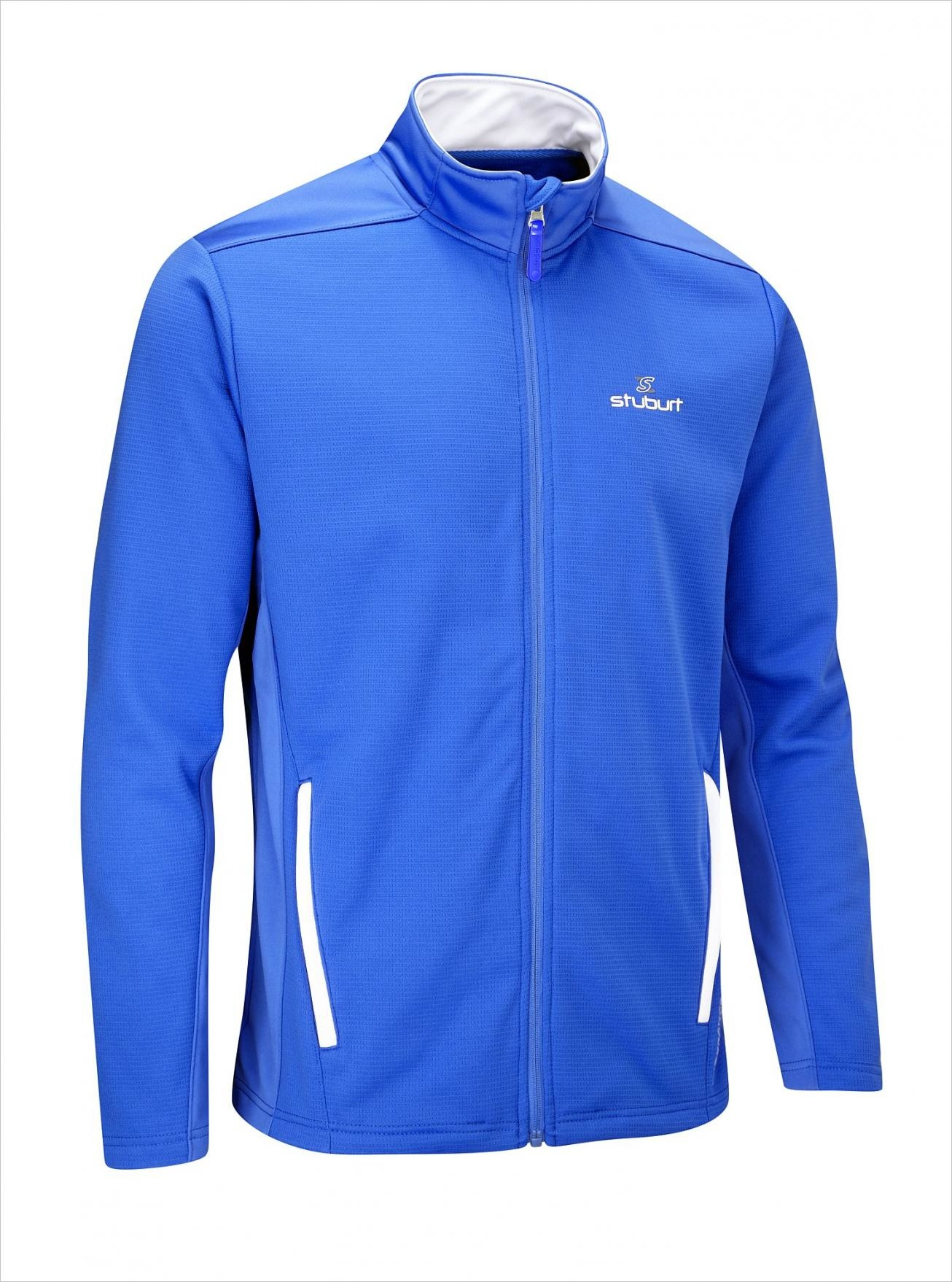 Stuburt Endurance Full Zip Fleece Trui - Imperial Blue
