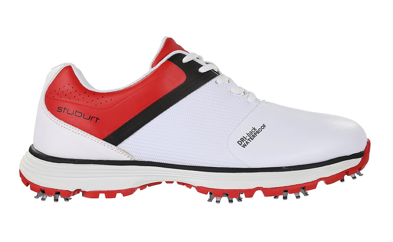 Stuburt PCT - sport heren golf schoenen - Wit/Rood