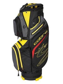 Cobra Ultralight Golf Cartbag Zwart / Geel