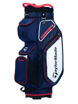 TaylorMade Pro Cart 8.0 Golf Trolley tas - Navy/Wit/Rood