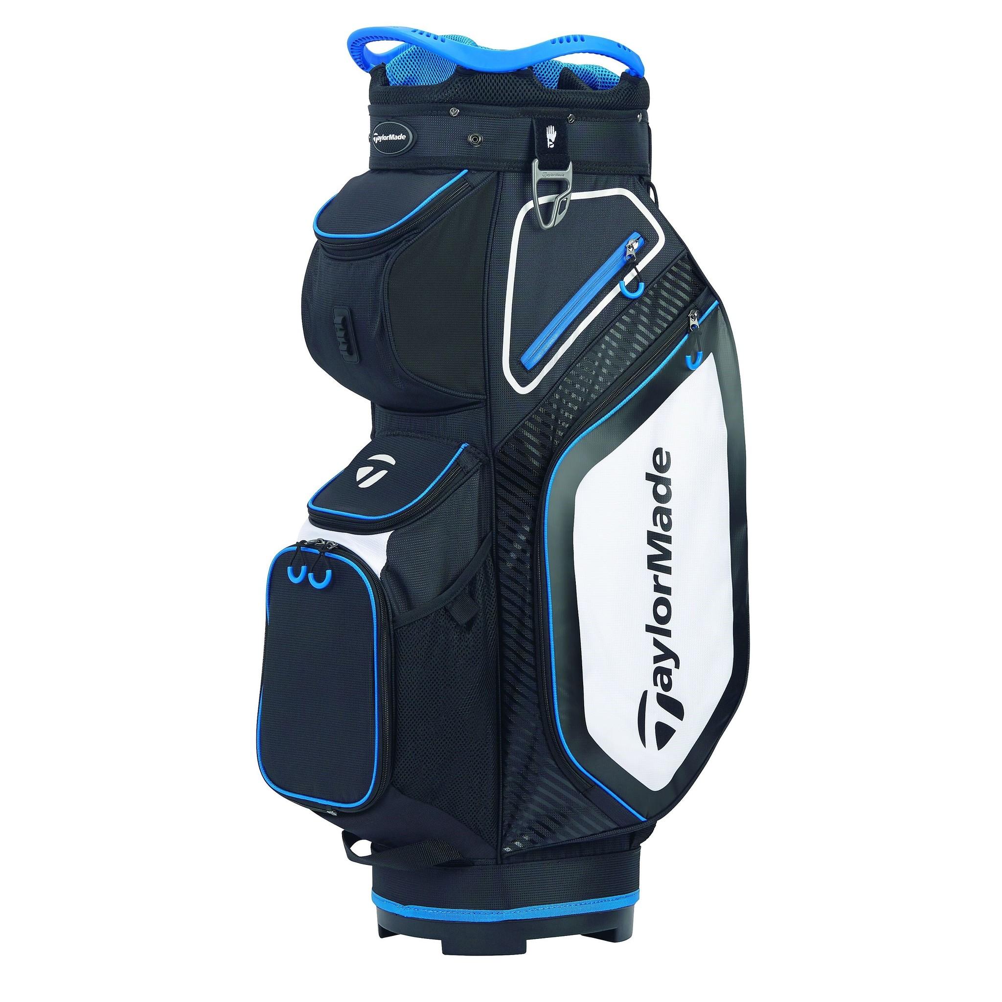 TaylorMade Pro Cart 8.0 Golf Trolley tas - Zwart/Wit/Blauw