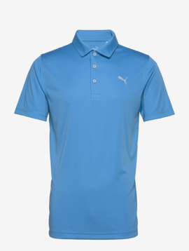 Puma Heren Rotation Golf Polo - Ibiza Blue