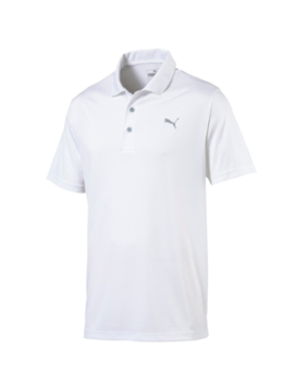 Puma Heren Rotation Golf Polo - Wit