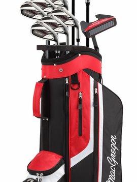 Macgregor Golf Heren CG3000 Full set met Cartbag - RH - Staal