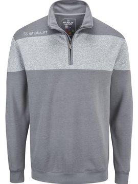 Stuburt Heren Evolve Performance 1/4 Zip Golf Sweater - Grijs