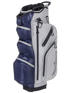 Macgregor Golf MacTec Water Resistant Golf Trolley Tas - Zilver/Navy