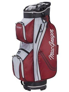 Macgregor Golf Response ZT Lite Trolley 10 inch Trolley Tas - Burgundy