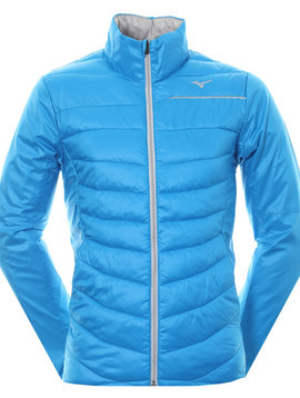 Mizuno Heren Move Tech Golf Jacket - Blue/White - Large