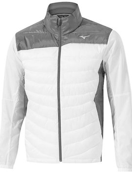 Mizuno Heren Move Tech Golf Jacket - Zwart/Wit