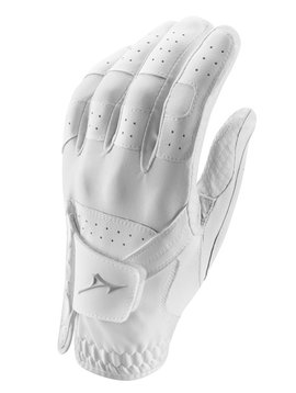 Mizuno Stretch dames handschoen - rechthandig Wit