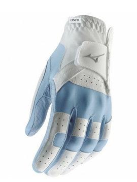 Mizuno Stretch dames handschoen - rechthandig Blauw/Wit