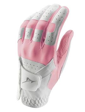 Mizuno Stretch dames handschoen - rechthandig Roze/Wit
