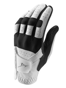 Mizuno Heren Stretch handschoen - Zwart/Wit