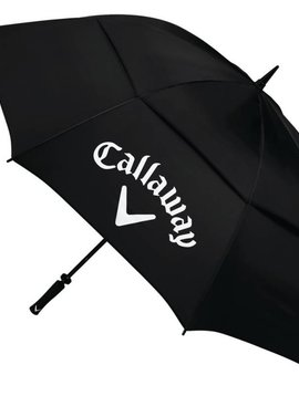 Callaway Classic 64 inch double canopy paraplu - Zwart