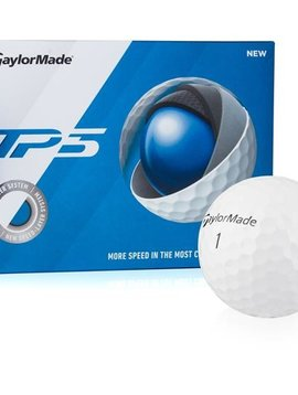 TaylorMade TP5 golfballen - 12 pack - Wit