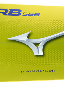 Mizuno RB 566 golfballen 2020 - 12 golfballen - Geel