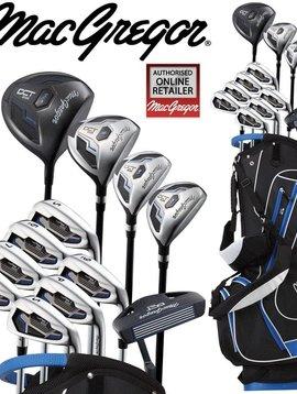 Macgregor Golf DCT2000 Complete set met Drag tas - Graphite