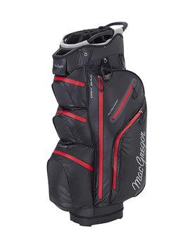 Macgregor Golf Mactec water resistant golf  trolley tas - zwart rood