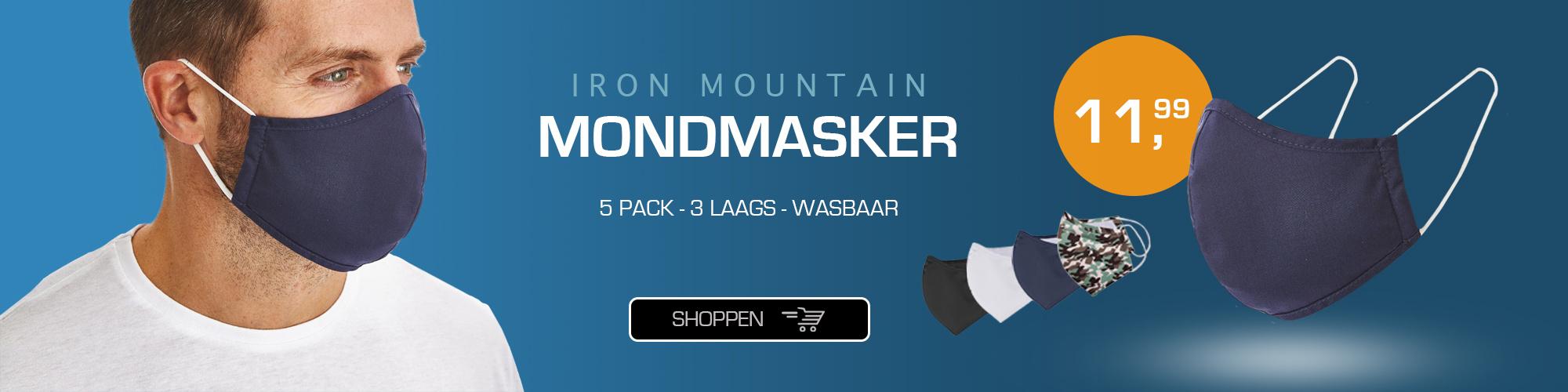 Iron Mountain mondmasker