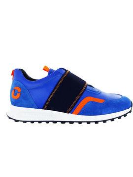 Duca Del Cosma Centurion herenschoenen - blauw / oranje