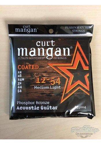 Curt Mangan Curt Mangan 35004 12-54 PhB Coated Long Life gitaar snaren