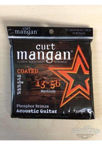 Curt Mangan Curt Mangan 35006 Fusion 13-56 PHB COATED Long life strings