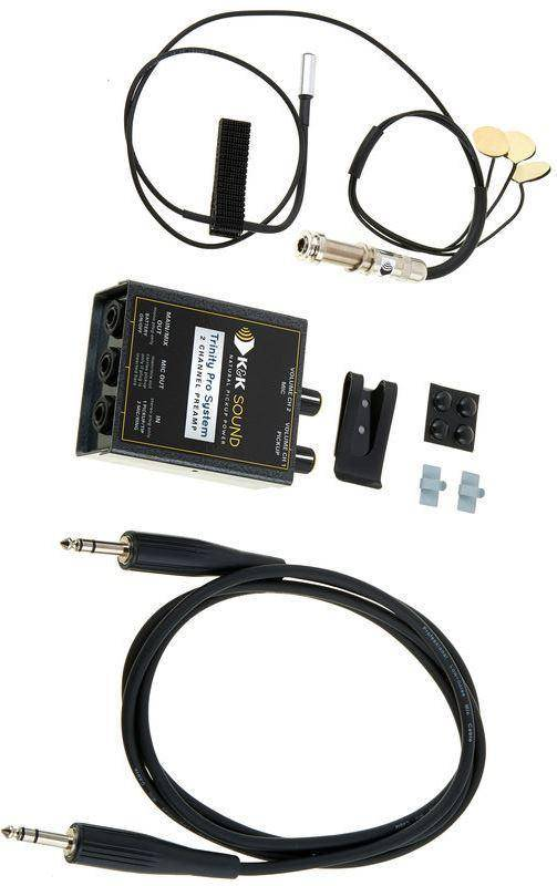 K&K Trinity Pro Mini System Microphone pickup pre-amp