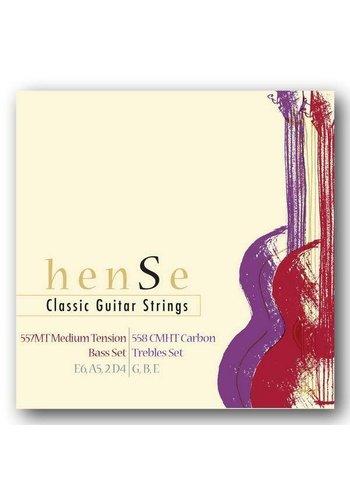 Hense Hense 557MT + 558CMHT Klassieke gitaar Bass Set+Treble Set