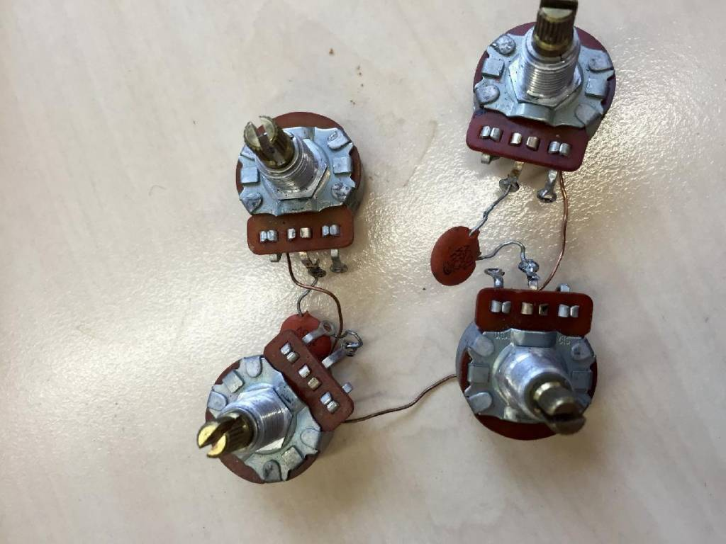 Wiring Harness Gibson Sg