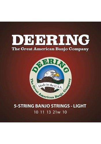 Deering Deering Light Gauge 5-string Banjo Strings