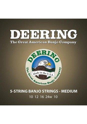 Deering Deering Premium Medium Gauge 5-string Banjo Strings
