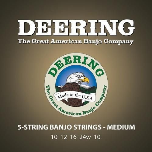 Deering Deering Medium Gauge 5-string Banjo Strings