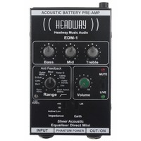 Headway EDM-1 Acoustic Preamp